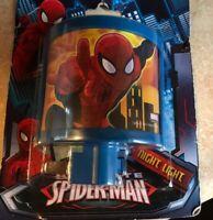 Spiderman Night Light New In Pack