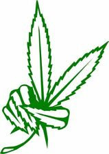 "4"" Marijuana Cannabis Weed Vinyl Transfer Decal"