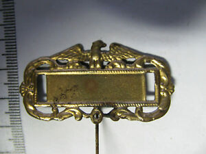 Preussischer Adler - Namensschild oder Vorsitzender an Nadel um 1900(435)