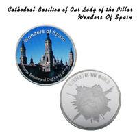 WR España Catedral-Basílica de Nuestra Señora del Pilar Moneda de Plata