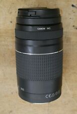 Canon Zoom Lens EF 75-300mm 1:4-5.6 III used tested free shipping
