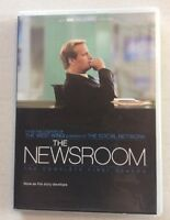 THE NEWSROOM : THE COMPLETE FIRST SEASON DVD FREE SHIPPING