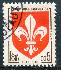 STAMP / TIMBRE FRANCE OBLITERE N° 1230 BLASON LILLE