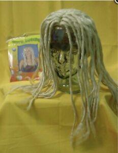 Long Blonde Dreadlocks Dreads Wig Reggae Rasta Jamaican Beach Surfer Fancy Dress