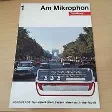 NORDMENDE Am Mikrophon 1  Jahrgang 12 / 1965