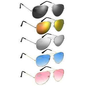 Aviation Pilot Sunglasses Topgun UV400 Unisex Shades Glasses  Various Colours