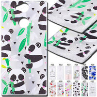 For SONY Gel Silicone Rubber Case TPU Soft Back Cover Shockproof Protective Skin