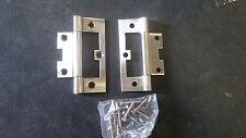 10x pair stainless steel door hinges 89x36 x2 mm