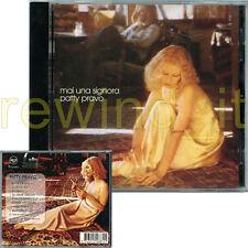 """PATTY PRAVO """"MAI UNA SIGNORA"""" CD 1998 FUORI CATALOGO"""