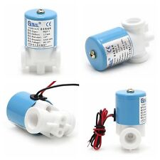"1/2"" 12v Electric Solenoid Valve for Water Air Flow N/c Normally Closed Device"