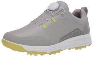 Skechers Men's Torque Twist Waterproof Golf Shoe, Gray/Lime, Size  vdOx