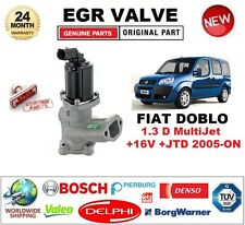 FOR FIAT DOBLO 1.3 D MultiJet +16V +JTD 2005-ON EGR VALVE 2-PIN D-SHAPE PLUG