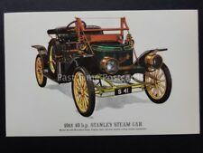 Vintage Car: 1911 10 h.p. Stanley Steam Car - Pub by Prescott Pickup & Co