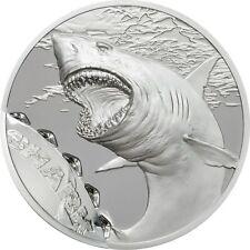 5 $2017 Palau-son marcas de mordidas/Bite Marks-tiburón/Shark