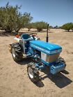 F-1300 ford tractor 4X4 with gannon and bruch cutter