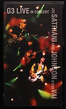 G3 Live In Concert 1997 Japan Promo Import Vhs Satriani, Vai & Johnson Srvm 1526