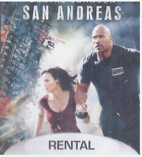 SAN ANDREAS (Blu-ray Only, 2015) RENTAL EXCLUSIVE