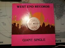 West End Records - Giant Single , 1982, LP