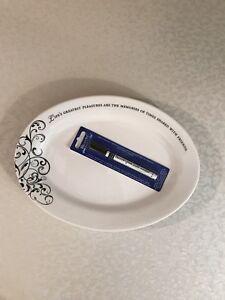 Lillian Rose Wedding Ceramic Plate w/Ceramic Paint Pen