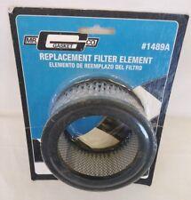 "Mr Gasket CO. Replacement Filter Element NEW #1489A Automotive 4""D x 2""H"