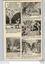 1920's PAPER AD 12 Page Indoor Fireworks Ronson Sparklers German
