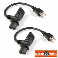 Hosa PWD-402 Power Cord Piggy Back IEC C13 to NEMA 5-15P Daisy Chain Cable 2 ft