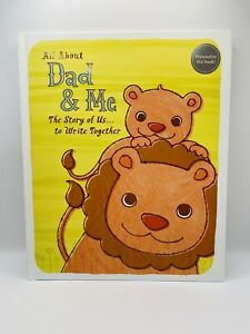 """""""All About Dad & Me: The Story of Us...to Write Together"""" Hardback Journal Book"""