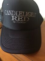 Candlelight Red the Wreckage Baseball Cap-Black-One Size-Mesh Back-SHIPS FREE