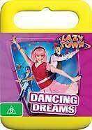 LazyTown: Dancing Dreams * NEW DVD * children dance (Region 4 Australia)