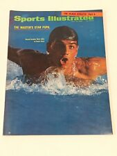 July 22, 1968 Mark Spitz Swimming Sports Illustrated NO LABEL Newsstand