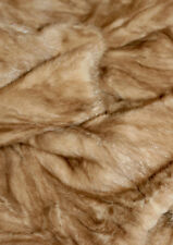 100% REAL MINK S/M/10/12 GLOSSY BEAUTIFUL HONEY SABLE SOFT STUNNING FUR COAT