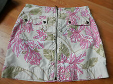Tommy Hilfiger  Floral  Skirt Size 6 Stretch Pink Multi
