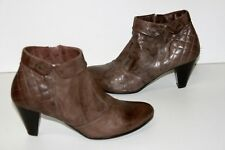 NERO GIARDINI Boots Cuir Marron Taupe T 39 BE