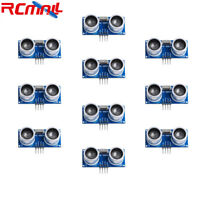 10pcs HC-SR04 Ultrasonic Sensor Distance Measuring Transducer Module for Arduino