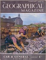 the geographical magazine-FEB 1949-HERRING WORKERS IN THE HEBRIDES.