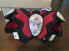 Maverik Bad Boy Youth Lacrosse Shoulder Pads Size Xs-Lowest Ebay $
