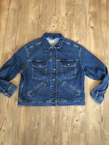 Wrangler Denim Jacket Womans Large
