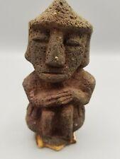 C 1450 PRE-COLUMBIAN AZTEC VOLCANIC IDOL PROFESSIONALLY APPRAISED W/ CERTIFICATE