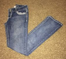 Maurices Jean Pants - Cute Thick Stitching and Rhinestones - Size 5/6 Regular