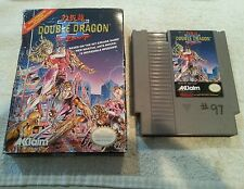 Double Dragon II 2 The Revenge Original Nintendo NES Game Cartridge & Box