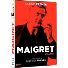 Maigret - Volume 5 : Bruno Cremer (DVD)