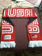 Olympics Torino 2006 USA Team Scarf Roots Official