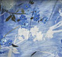 Blue Timeless Treasures azure blue dandelions floral flowers fabric