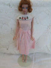 Vintage Midge in Dress Dancing Doll Dated 1962 Body Style
