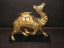 "Pier 1 Welded Bent Metal 16"" Camel Decorative Accent Art Piece"