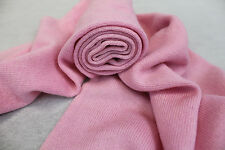 K18  NWT Gorgeous Pink Knitted 100% Pashmina Scarf Handmade In Nepal