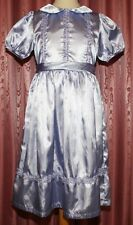 festliches KLEID ☺ elegantes festliches schimmerndes Satin Kleid  Gr. 140  *TOP*