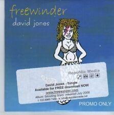 (DE366) David Jones, Free Winder - 2008 DJ CD