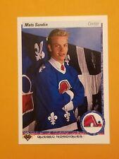1990-91 Upper Deck Hockey #365 Mats Sundin Rookie Card