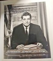 KANSAS Governor ROBERT DOCKING 8x10 Autographed PHOTO  Signed